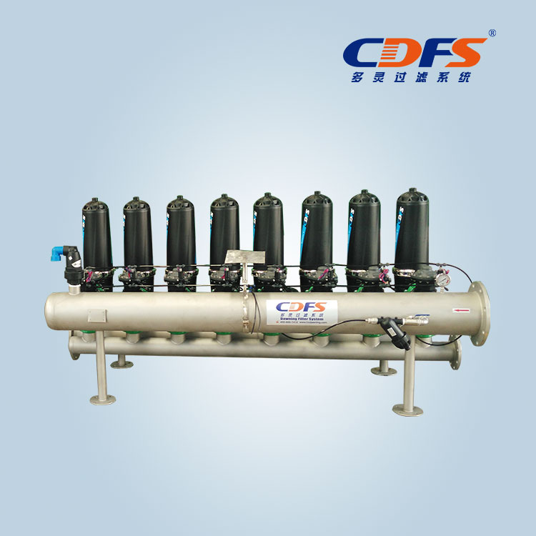 3inch 8pc automatic disc filter