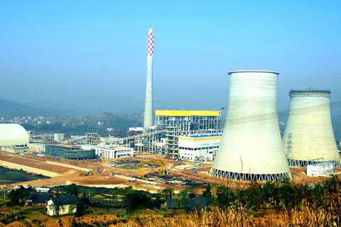 China resources lianyuan power plant